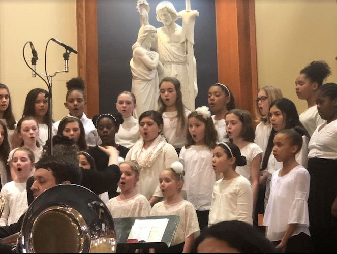 Junior Chorus Performs with Trinity Chamber Orchestra