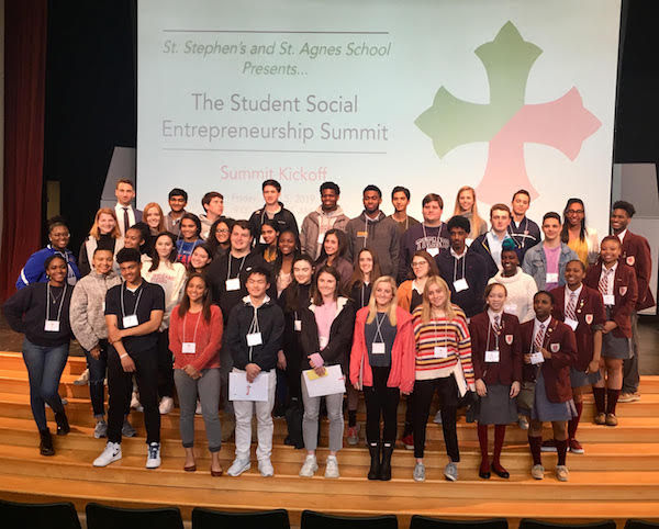 Students Participate in Social Entrepreneurship Summit
