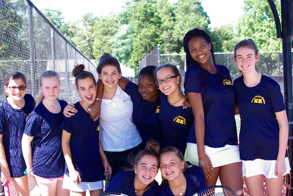 Middle School tennis team